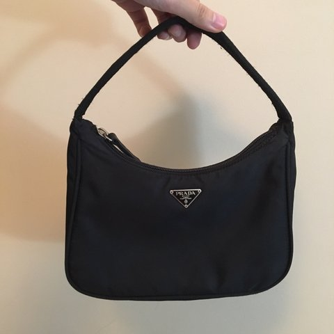 94ac34fd9845 Prada Tessuto Sport Mini Bag  Authentic! In pretty good but - Depop