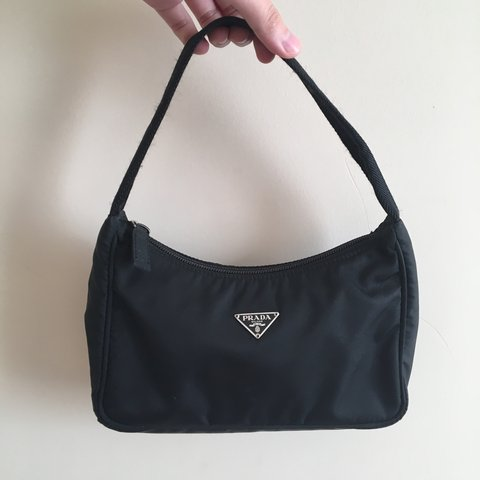 3523f6f0ce7f Prada Tessuto Sport Mini Bag   Authentic! In good condition - Depop