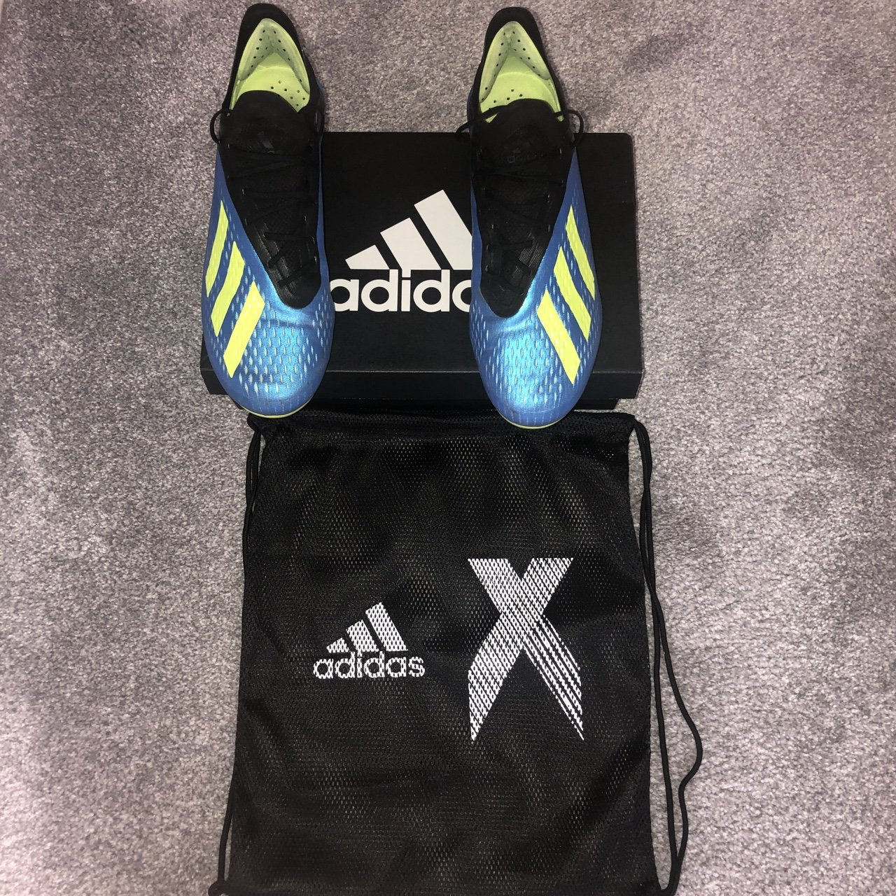 eebc429a85ad Men s Adidas X 18.1 soft ground football boots Bought for 8 - Depop