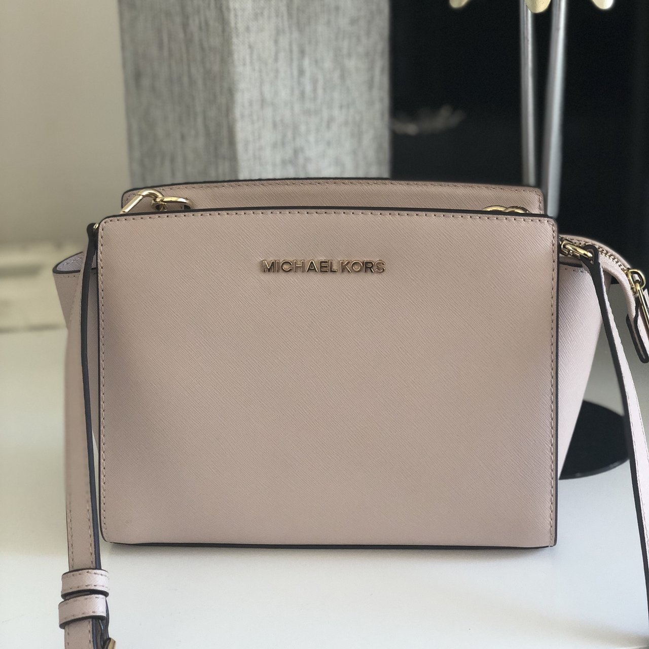 fcada0c6f590 Michael kors Ss18 Cost £250 Only used once for a hole in - Depop