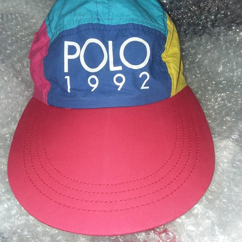 Polo 1992 easter hat OSFA p wing stadium games p racing to - Depop 2fd5e18c76dd