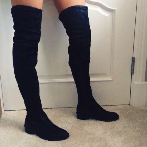 037f50d548c Black Aldo over the knee boots
