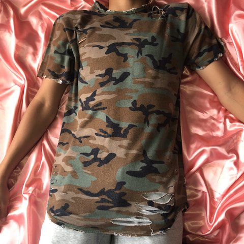 c7c562bf @jewelius. last year. Barrigada, United States. EPTM Distressed Camo Tee.