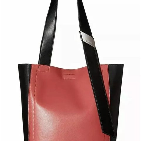 11c8c37a9c @lovehavingfaith. 2 months ago. Murfreesboro, United States. Brand New with Tags  Calvin Klein Karsyn North South Leather Tote Shoulder Bag ...