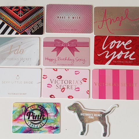 Raefoxe Last Month Perth And Kinross United Kingdom Victorias Secret Collectable Gift Cards