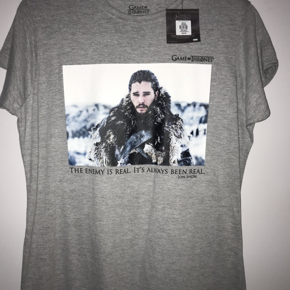 Game Of Thrones Primark T Shirt Size 14 16 New With Depop
