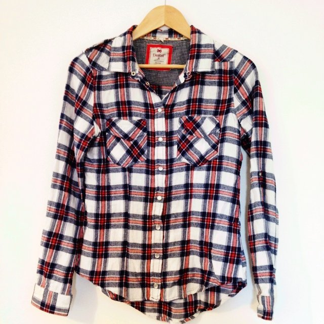 c6c7d9a16046 Checked shirt, size 10 #primark #women #shirt #checked - Depop
