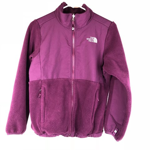 71f827ad3b20 The North Face girls large purple Denali Jacket. Excellent - Depop