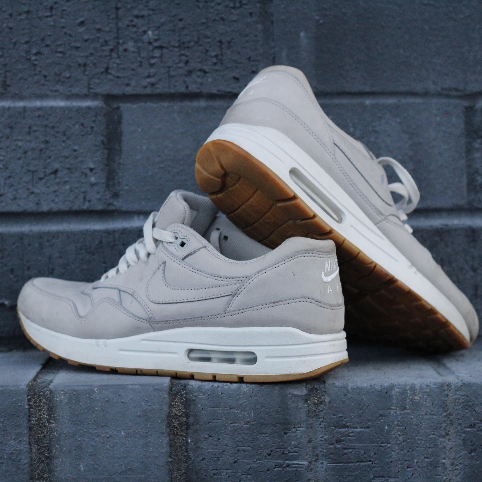 Nike Air Max 1 Grey Suede Leather. Men's Size...