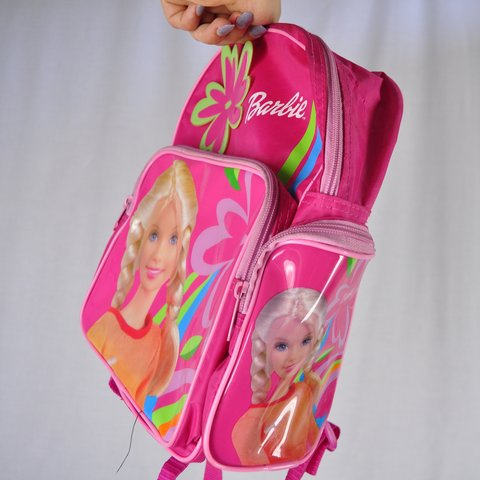 💗🐉 THE BARBIE BACKPACK 🐉💗 i sold one just like this not - Depop 749d73ce94dd2