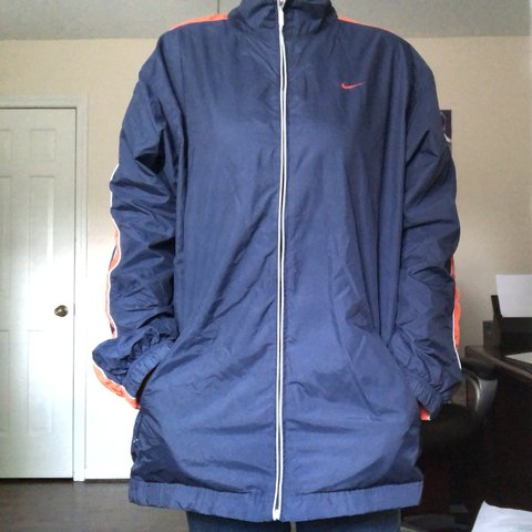 Super comfy and cute unisex Nike windbreaker jacket with on - Depop 555a49984