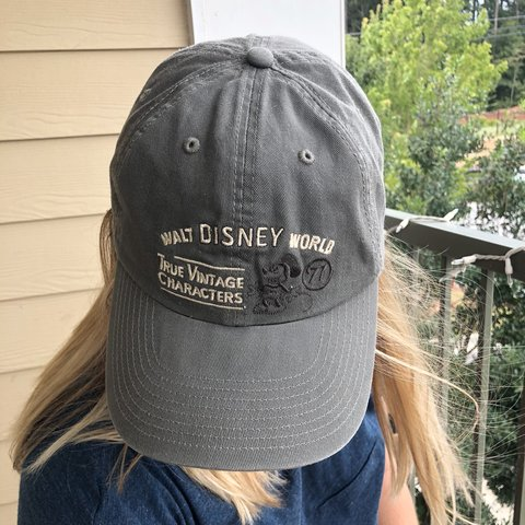 Vintage Disney hat. Adjustable back.  hat  disney - Depop 31c1f28776f6