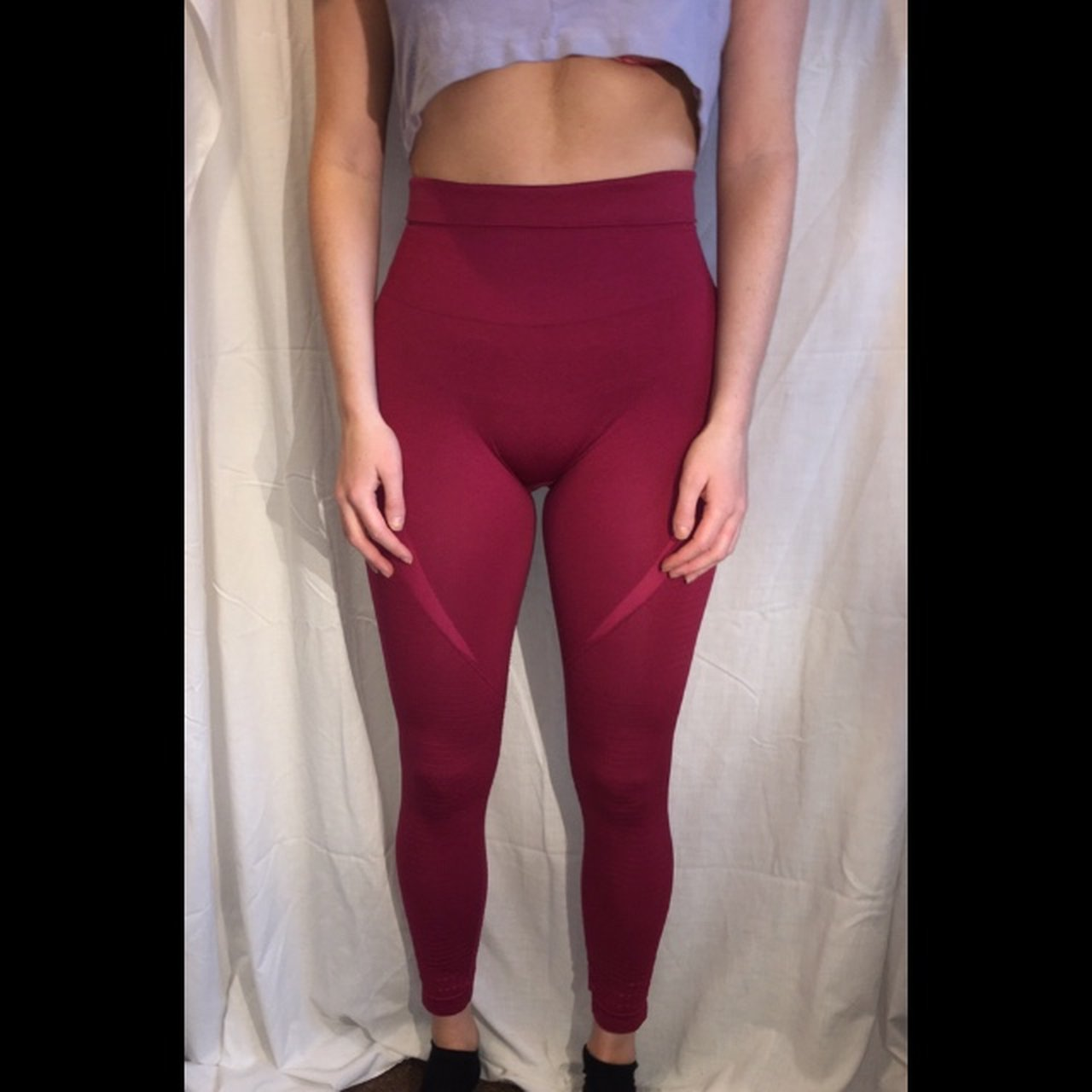a15c2292c9dd99 Rare Gymshark Seamless Leggings in Beet. These are old no in - Depop