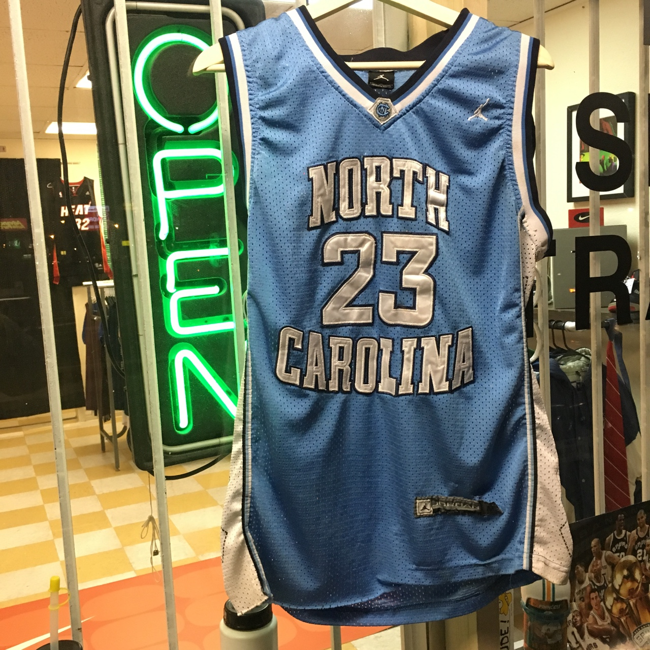 info for 9f97c db31d Michael Jordan UNC North Carolina Basketball Jersey ...