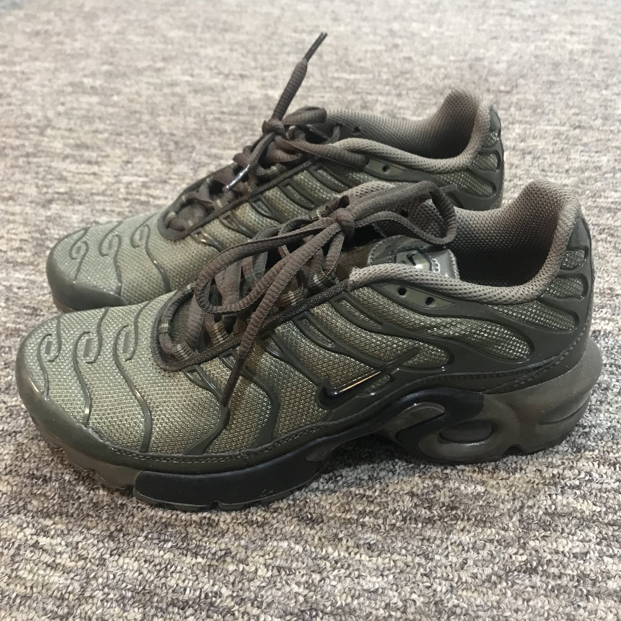 best sneakers a4ac9 1c2d2 sale nike air max plus olive green 48d4d de939