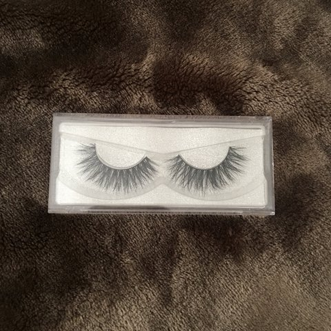 a5c158ce66b Faux Mink Lashes in the style D02 -Never used Tags: Pink, - Depop
