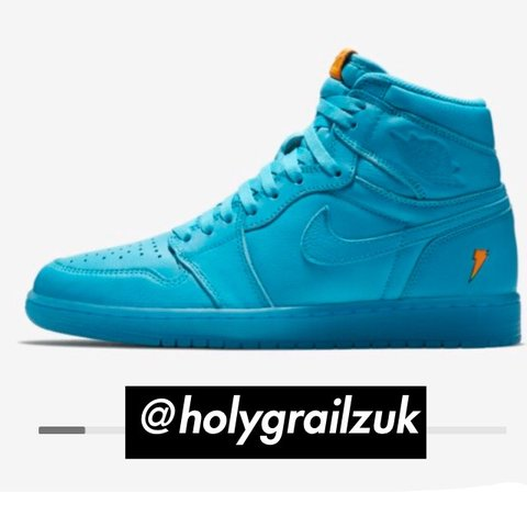 1c77ee42e85 Air Jordan 1 Retro High OG  Cool Blue  9 10 will give them a - Depop