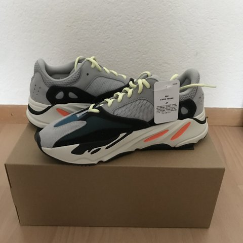 Adidas Yeezy Wave Runner 700 Us Drop Only Grey Cash Only Depop