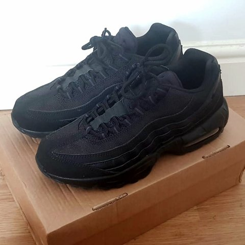 7d463199b6 @bigkidd. last month. Portsmouth, GB. Nike Air Max 95 Triple Black Size: UK  7. Retail Price: £120 ...