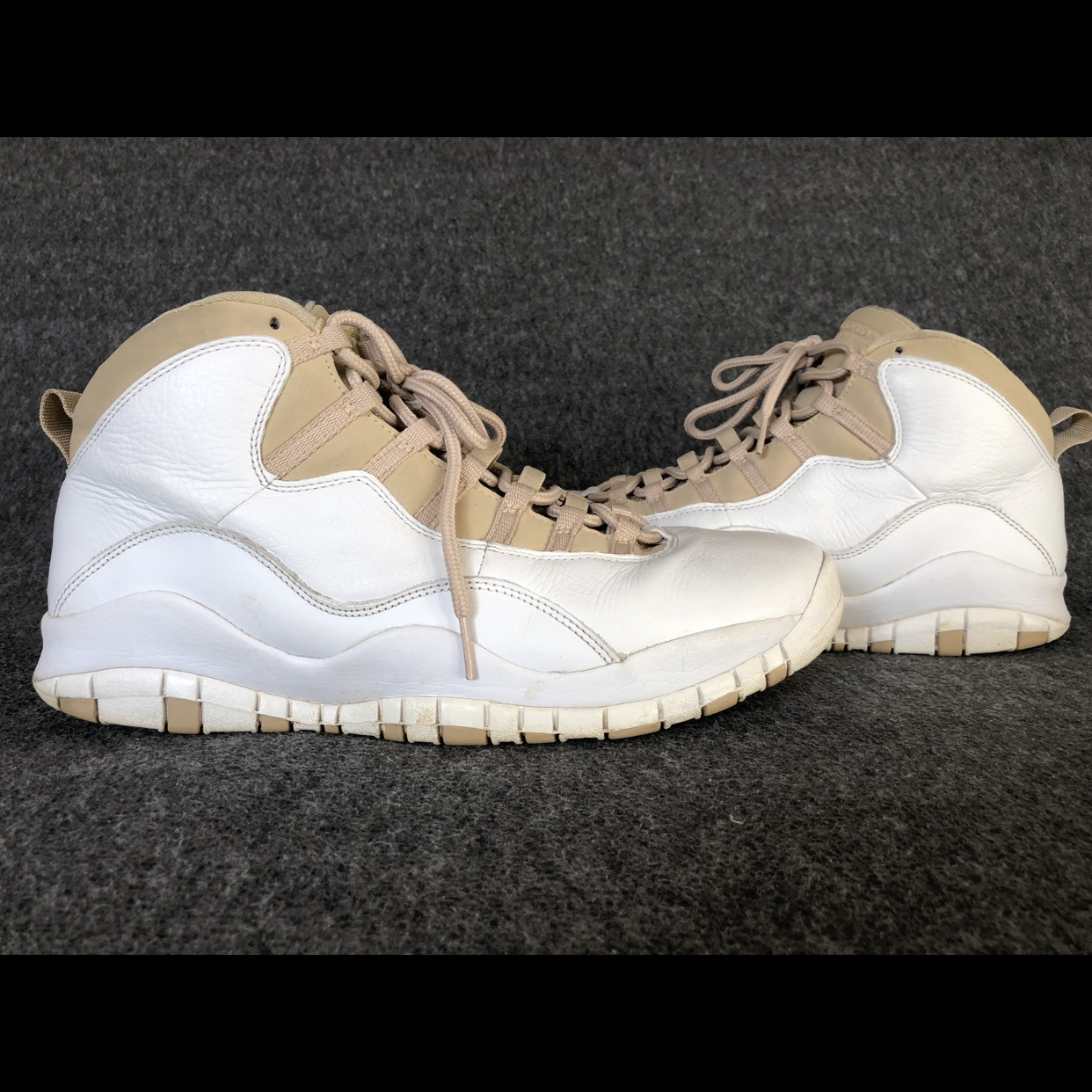 save off 7c716 5509b Jordan 10 Linen. Not many people are familiar with... - Depop