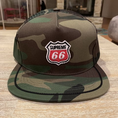 SUPREME SS13 ROUTE 66 TRUCKER HAT. BRAND NEW NEVER BEEN IN - Depop 702967208568