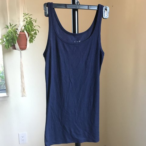 2d26cfe8f94f9 Target  A New Day  Navy Blue Tank Top. Size M. Only worn - Depop