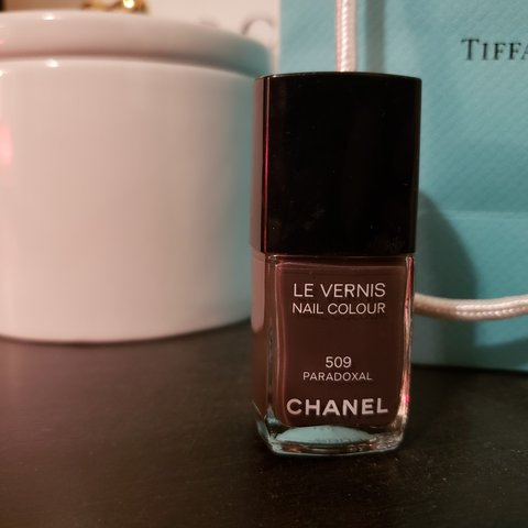 Chanel Nail Polish in Paradoxal. Color is a Griege Purple a - Depop