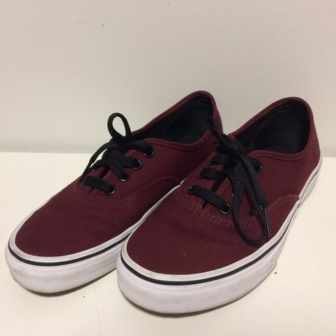 4888937d0255 @jaynkay. 10 months ago. Miami, United States. Burgundy Vans low tops/ ...