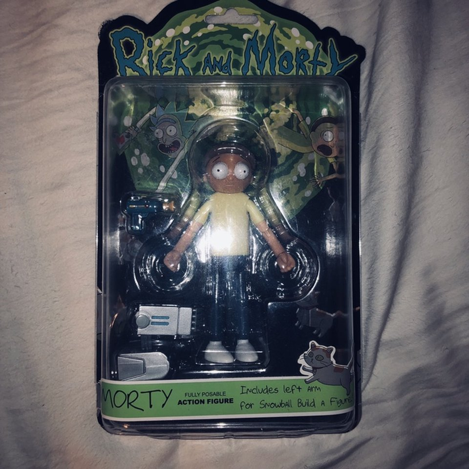 Rick and Morty (Morty) Funko 5 action figure    - Depop