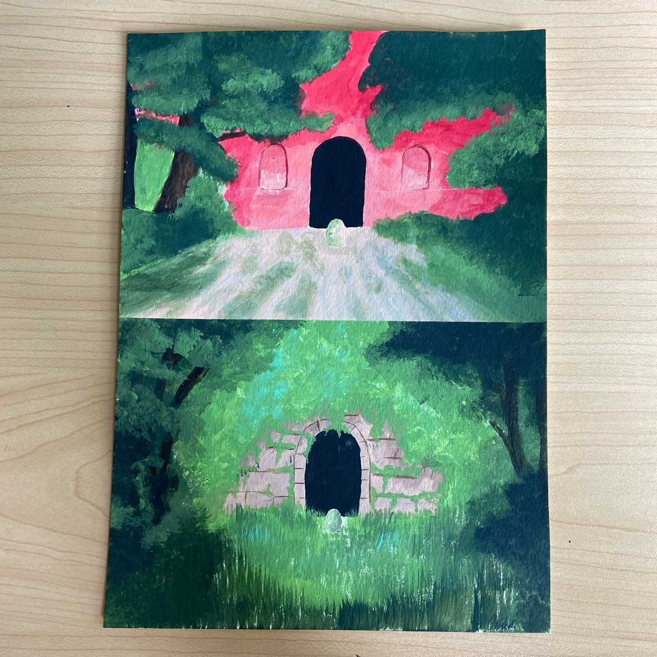 Spirited Away Painting Free Shipping 6 5in X Depop