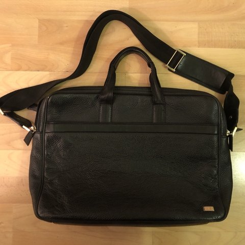 c97d6d8b122547 @masr87. 6 months ago. London, United Kingdom. Dunhill Leather Laptop  Briefcase bag