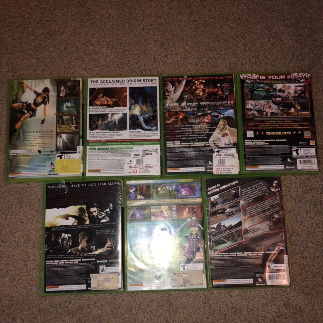 All amazing xbox 360 games!!! Finished all of them!    - Depop
