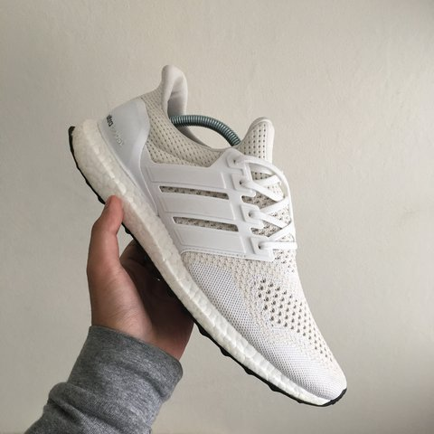 f0f7014b338 2015 Adidas Ultra Boost 1.0 in white from the Key City pack. - Depop