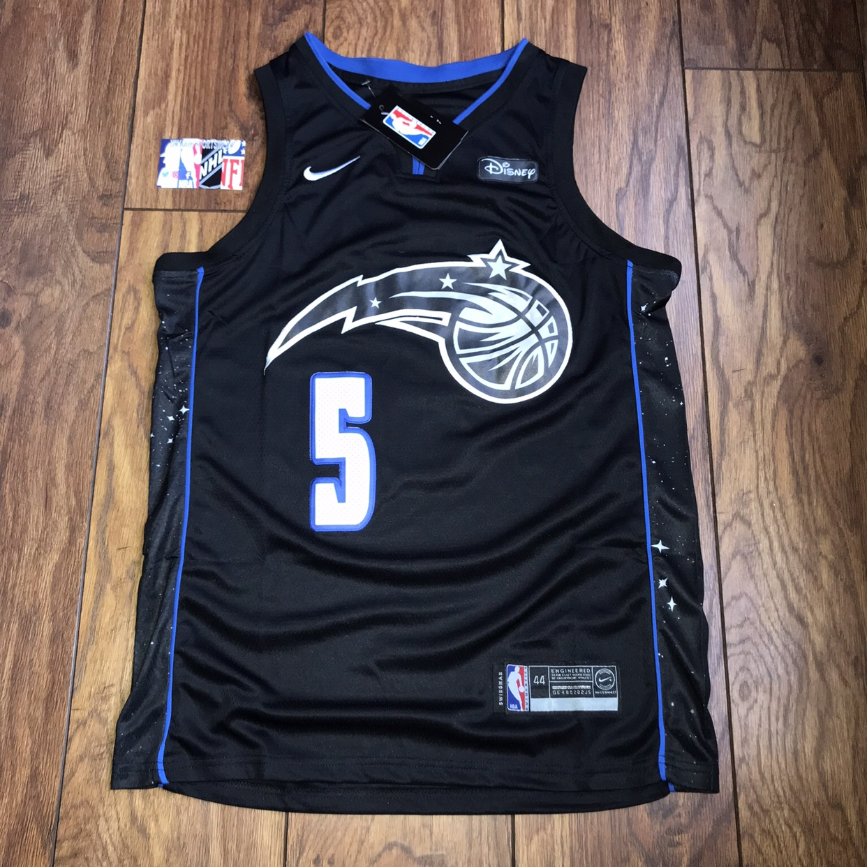 new styles d861c c28d2 Mo Bamba Orlando Magic NBA stitched Jersey new with ...