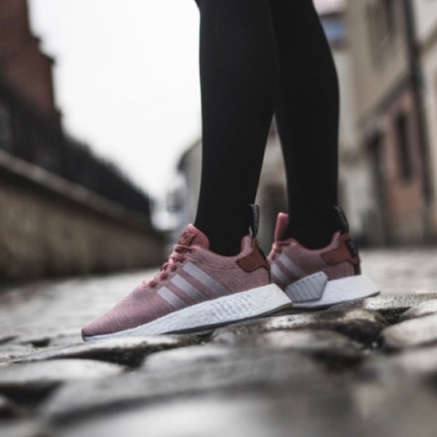 54c3f5265aaa7  trendyhustle. 10 months ago. United States. Adidas Originals NMD R2  Women s Ash Pink Crystal White