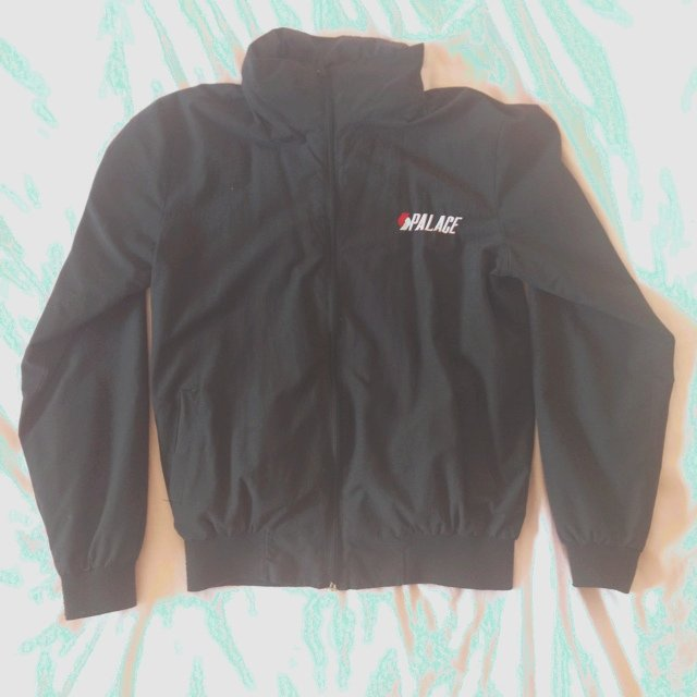 52799b9528ad Rare Unisex PALACE Windbreaker Bomber Jacket - Size Small as - Depop