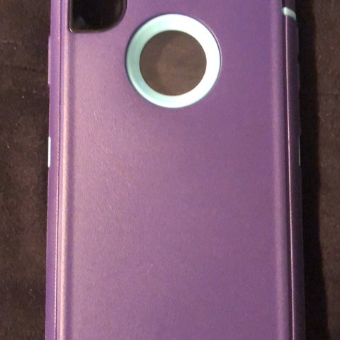 Otter Box Case For Iphone X Used For One Day In Perfect Me Depop