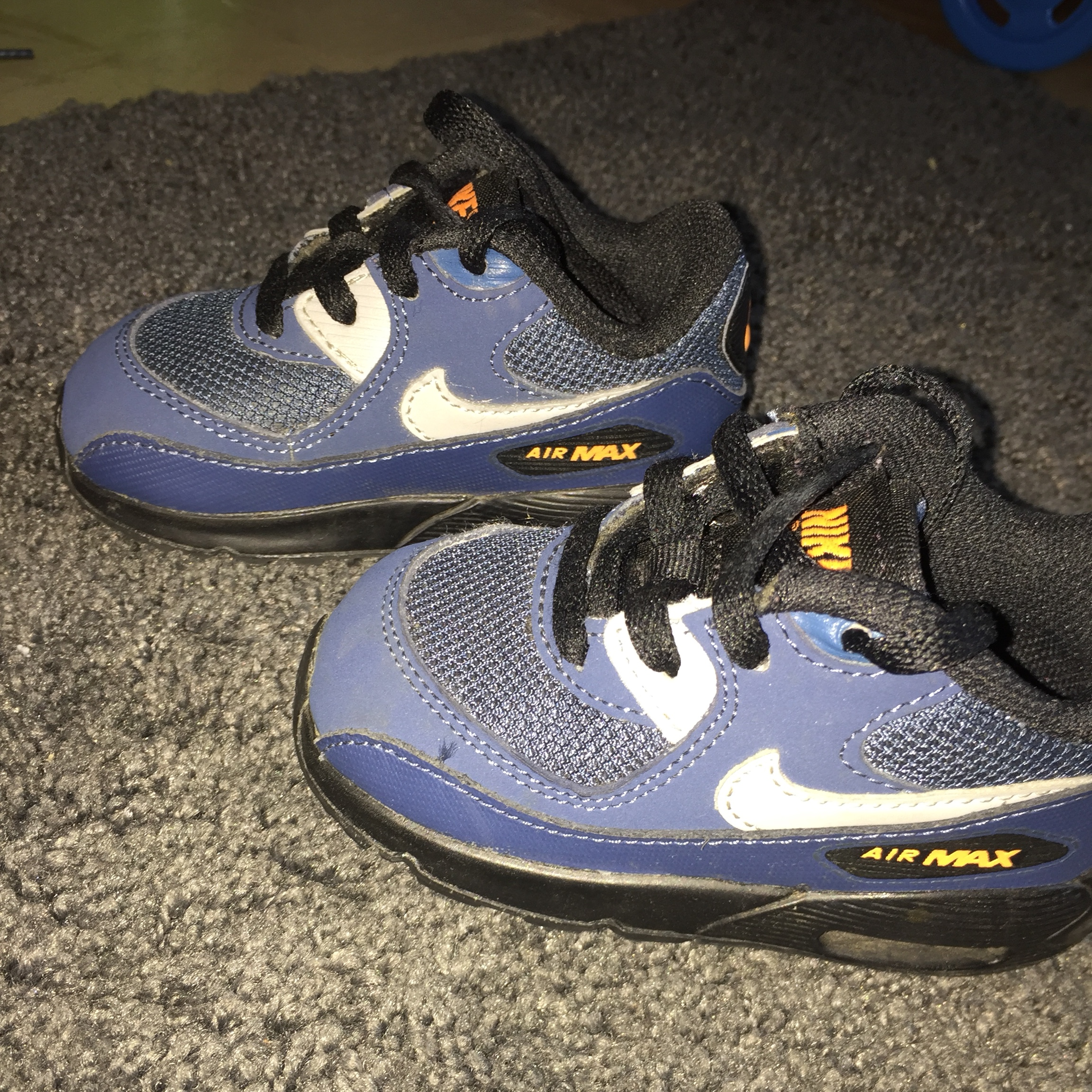 Nike air max 90's Infants Trainers 3.5 Excellent Depop