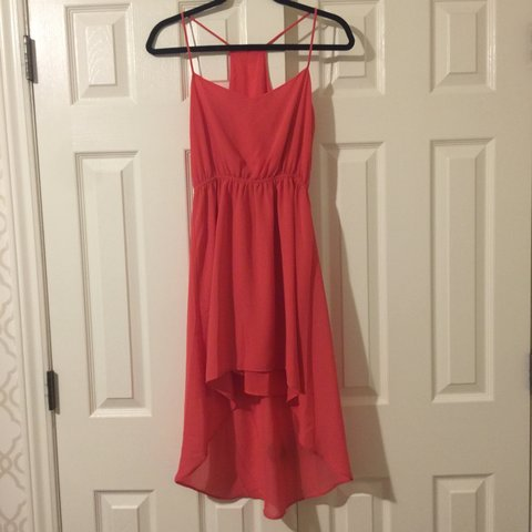 2f9eb4515a5d @tizianabd. 10 months ago. Beaconsfield, Canada. Forever 21 crepe high low  dress. Like new. From my own closet