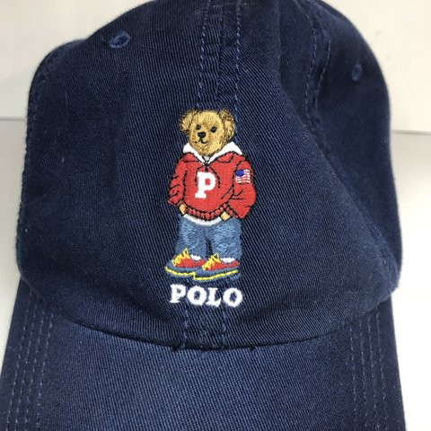b5b2523f @benandjamin. 11 months ago. Merritt Island, United States. Ralph Lauren  Navy Polo Varsity Bear Hat New without Tags