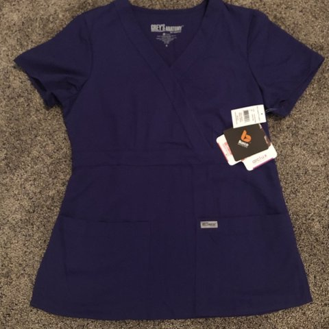 87d6bcdcd15 Brand New With Tags Grey's Anatomy by Barco Scrub Top. Color - Depop
