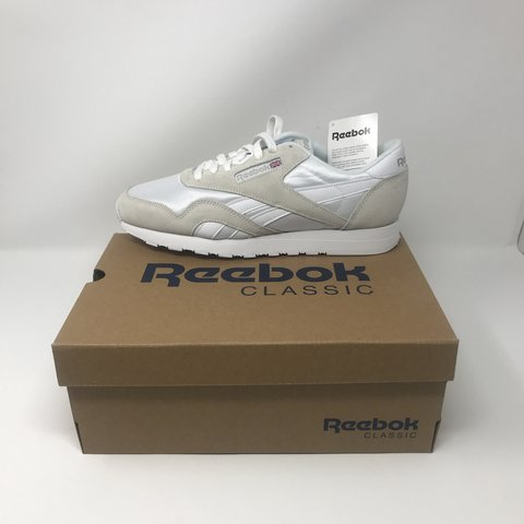 18682b6ae312aa A Classic pair of Nylon Reebok s perfect for completing a in - Depop