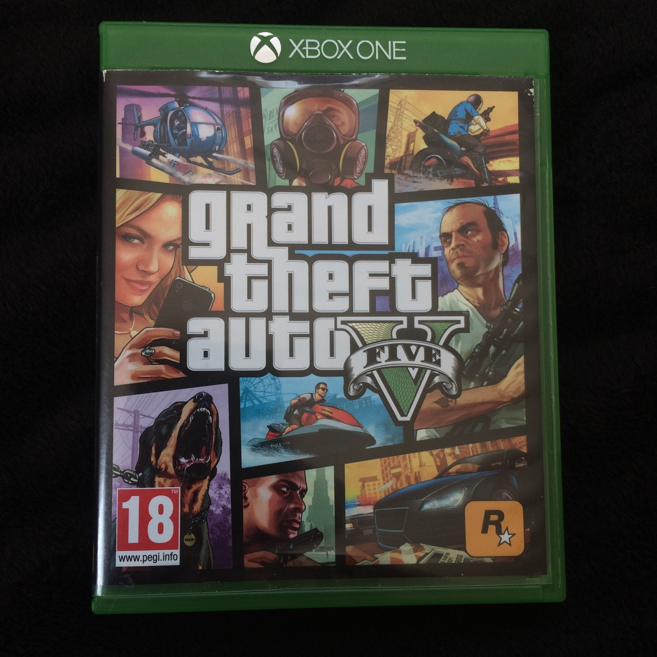 GTA 5, Xbox one, great condition disc, completely    - Depop
