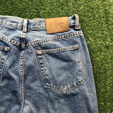 0c0613e2bad4ca @gemtheconqueror. 11 days ago. Los Angeles, United States. Vintage Calvin  Klein Jeans Womens Double Stone Wash Classic Fit ...
