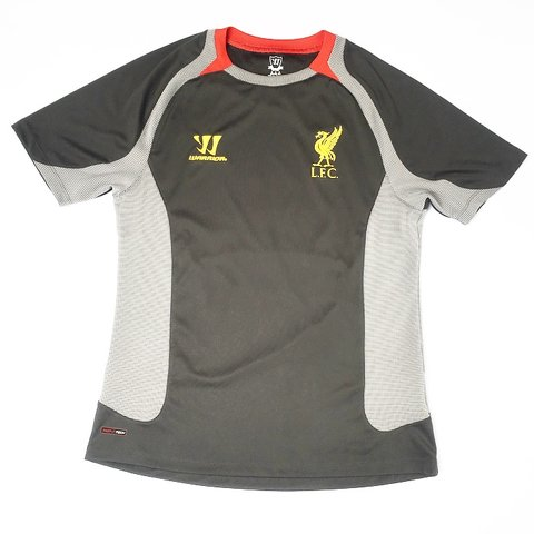 7a7a1589cc3  simplyretro. in 17 hours. United Kingdom. 🔥 LIVERPOOL F.C. WARRIOR 2012 -  2013 GREY TRAINING FOOTBALL SHIRT🔥