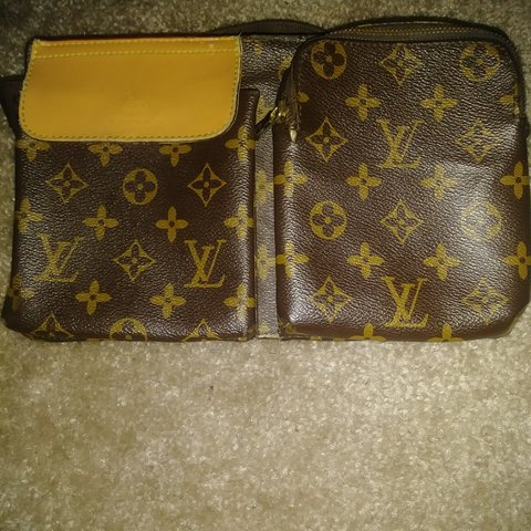RARE Pre-owned Louis Vuitton Women s waist bag. Front and of - Depop f0119d274