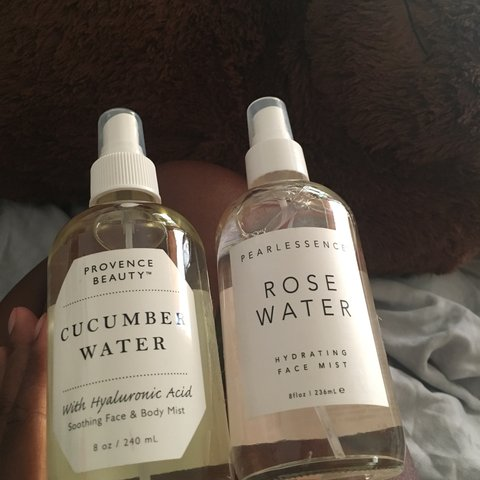 Pearlessence Provence Beauty Rose Water Cucumber Water Depop