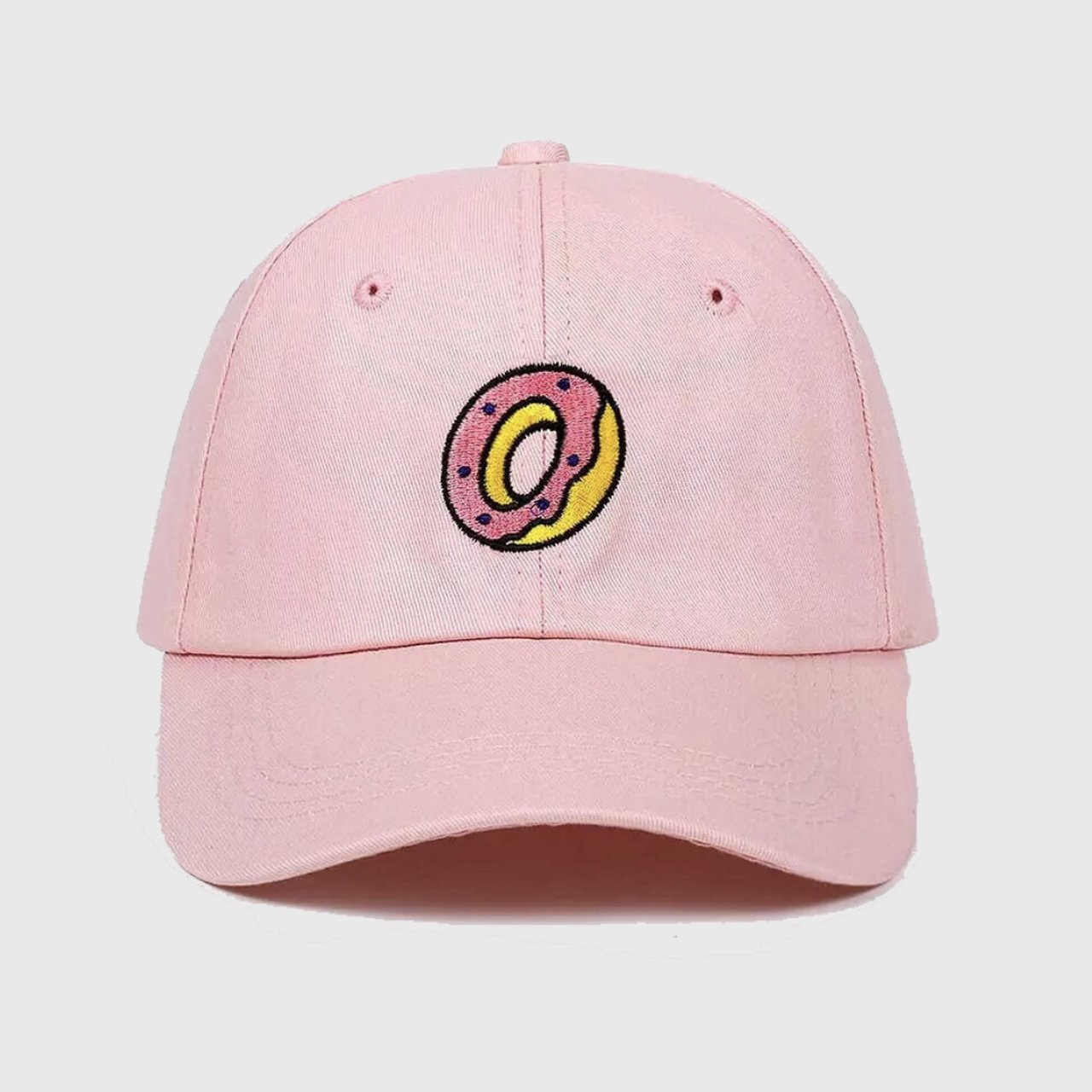 Donut baseball cap with coloured embroidery. Perfect for or - Depop ad27892b45f6