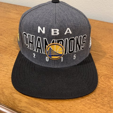 3b5a8fcf73f 2015 NBA Golden State Warriors championship hat. SnapBack - Depop