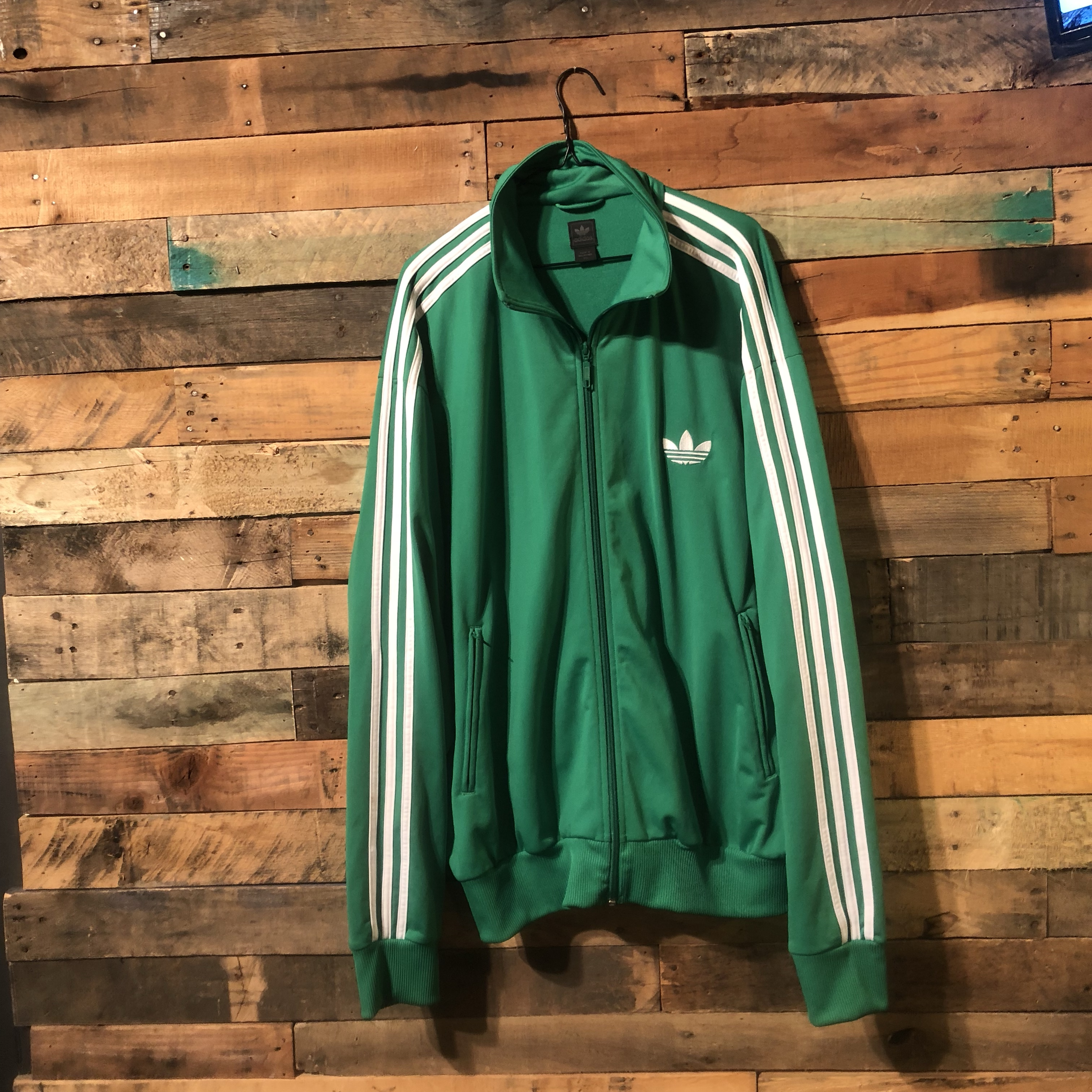 Vintage 1980's Adidas track jacket with the Depop